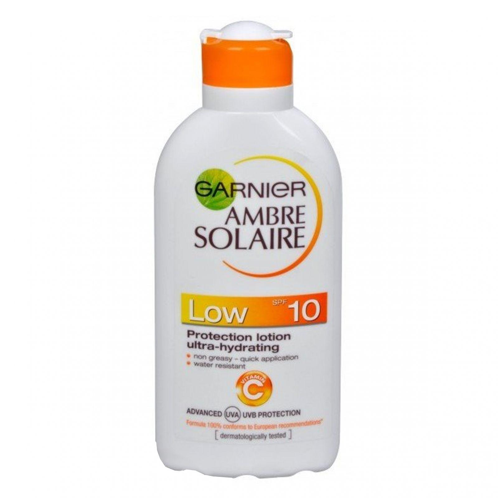Ambre Solaire Opalovací mléko OF 10 - 200 ml