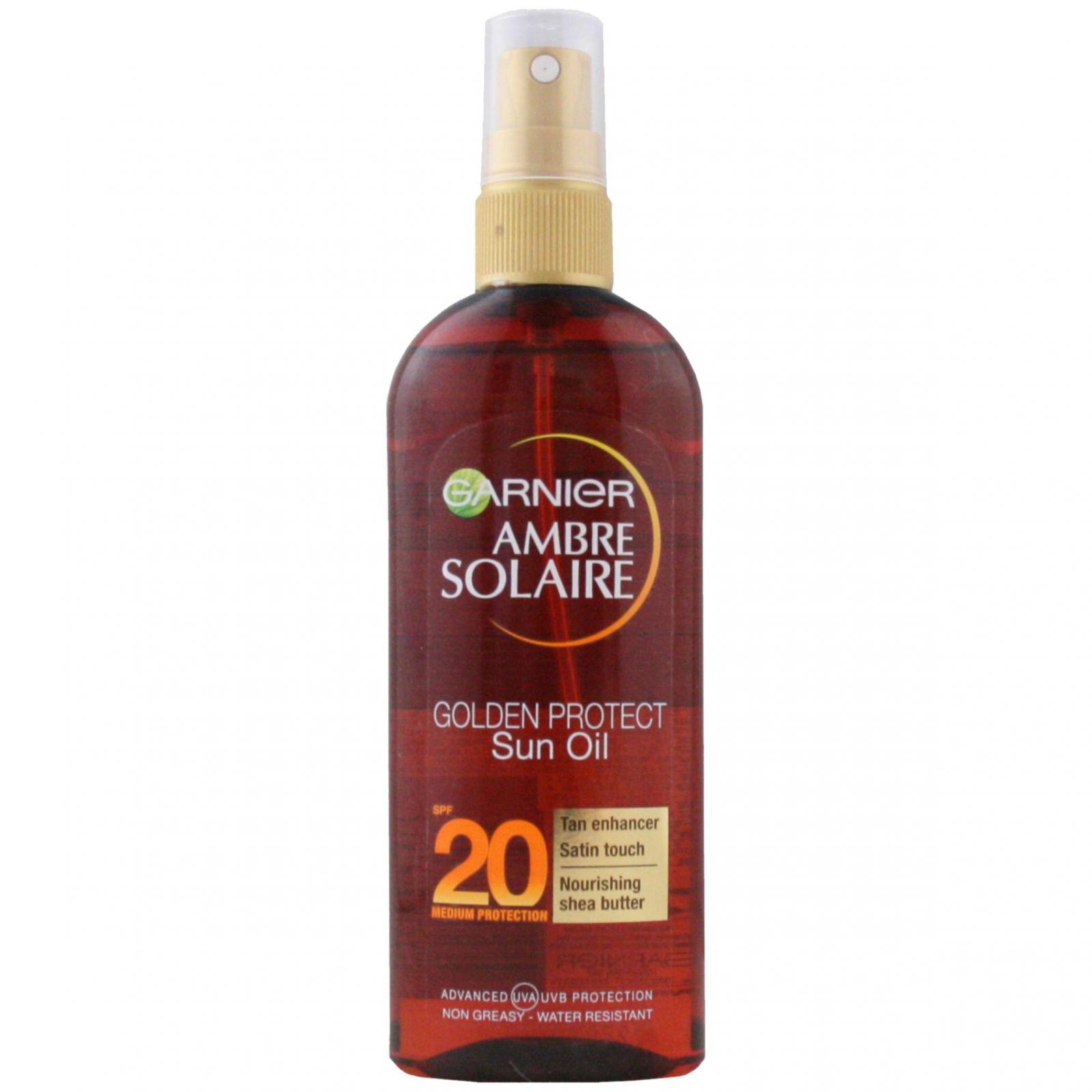 L´Oréal Ambre Solaire Golden Protect Olej na opalování OF 20 ─ 150 ml