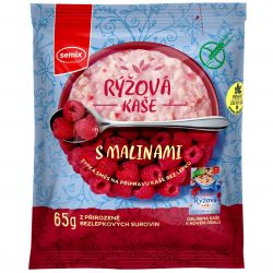 Semix Rice porridge with raspberries 65 g