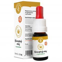 Zelená Země CBD Hemp oil 5% with rosemary 10 ml ─ regenerative serum