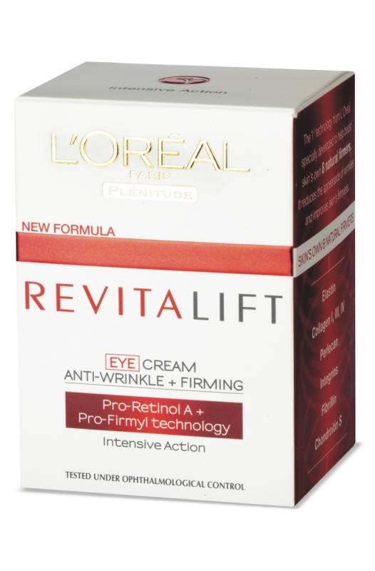 LOREAL PARIS Oční krém proti vráskám Revitalift 15 ml