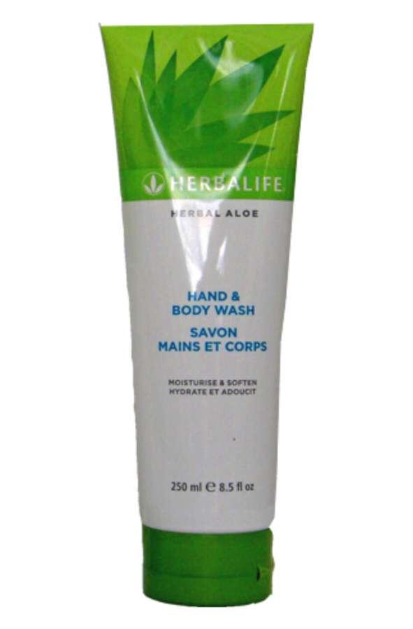Mycí tělový gel Herbal Aloe 250 ml