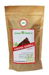 Zelená Země BIO Hemp seeds 500 g ─ DISCOUNT