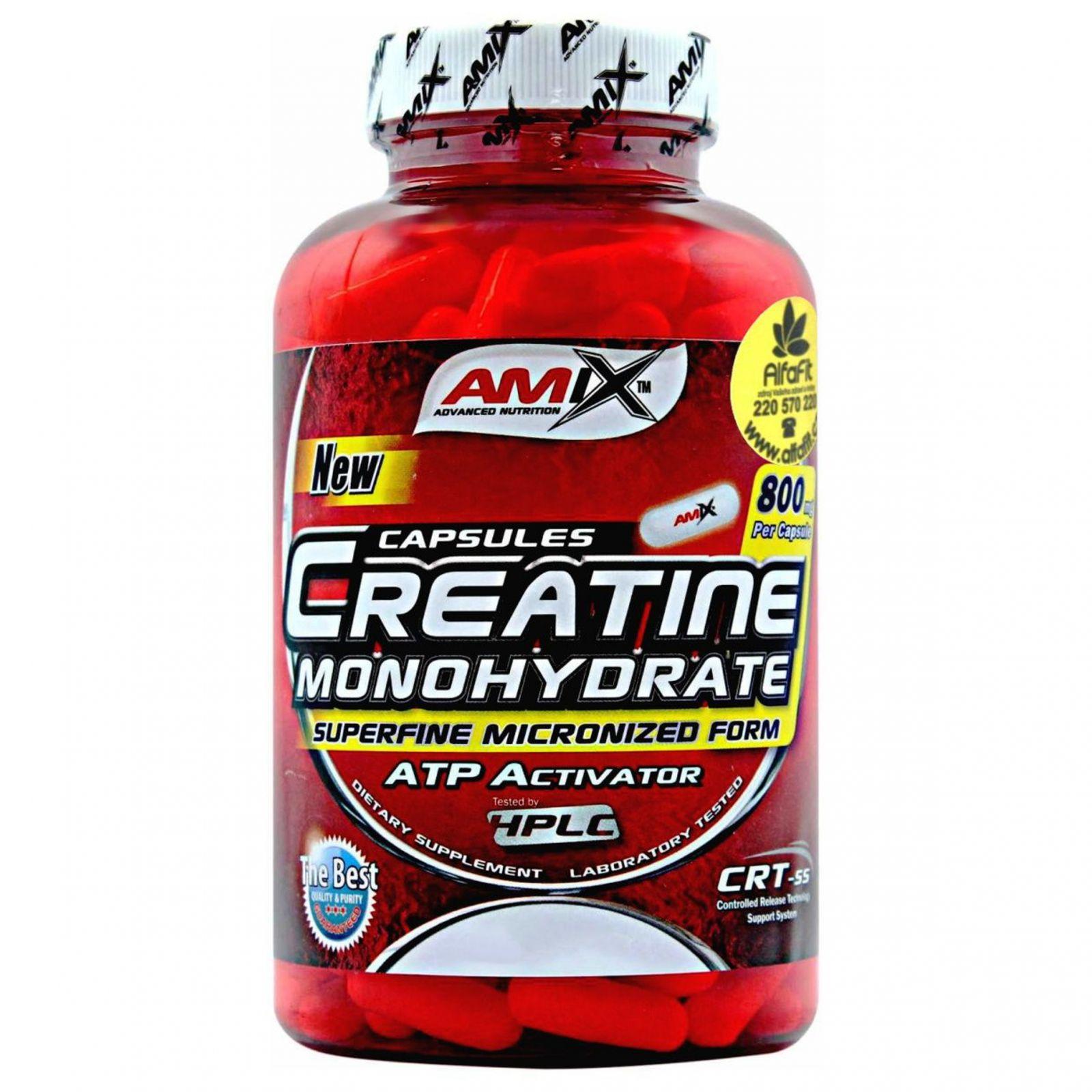 Amix Creatine Ethyl Ester - kreatin 350 kapslí