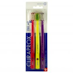 Curaprox CS1560 Soft toothbrush 3 pcs