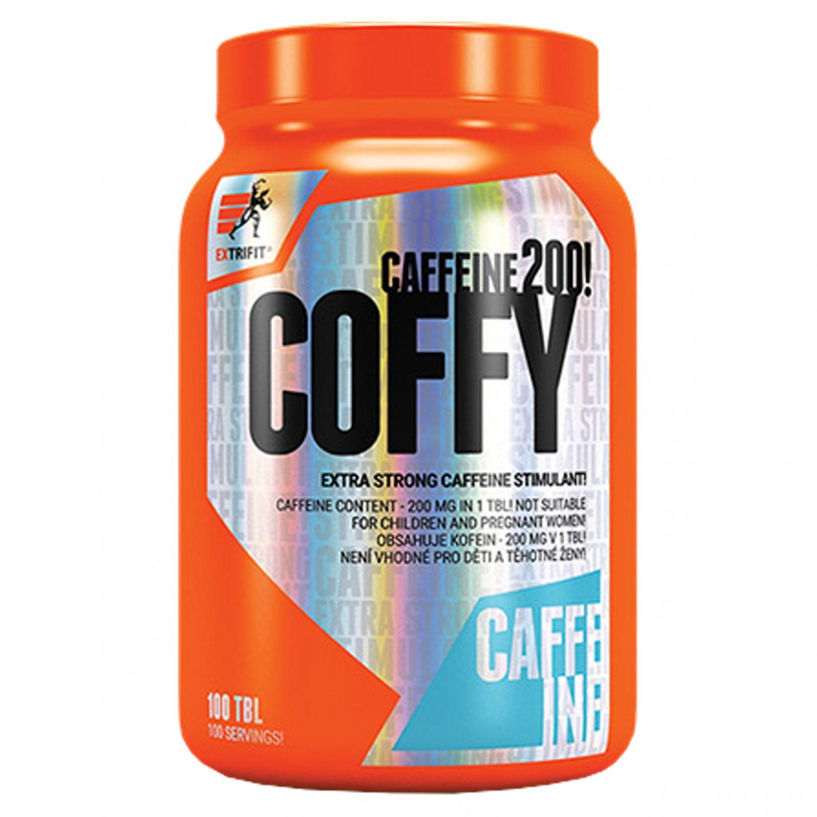 Extrifit Coffy Stimulant 200 mg - 100 tablet