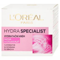L´Oreal Paris Hydra Specialist moisturizing cream 50 ml - dry and sensitive skin