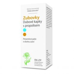 Dědek kořenář Teeth ® RK-ZP Oak drops with propolis 50 ml