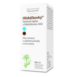Dědek kořenář Hřebíčkovky RK-H Oak drops with clove essential oil 100 ml
