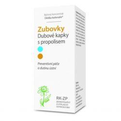 Dědek kořenář Zubovky® RK-ZP Oak drops with propolis 100 ml