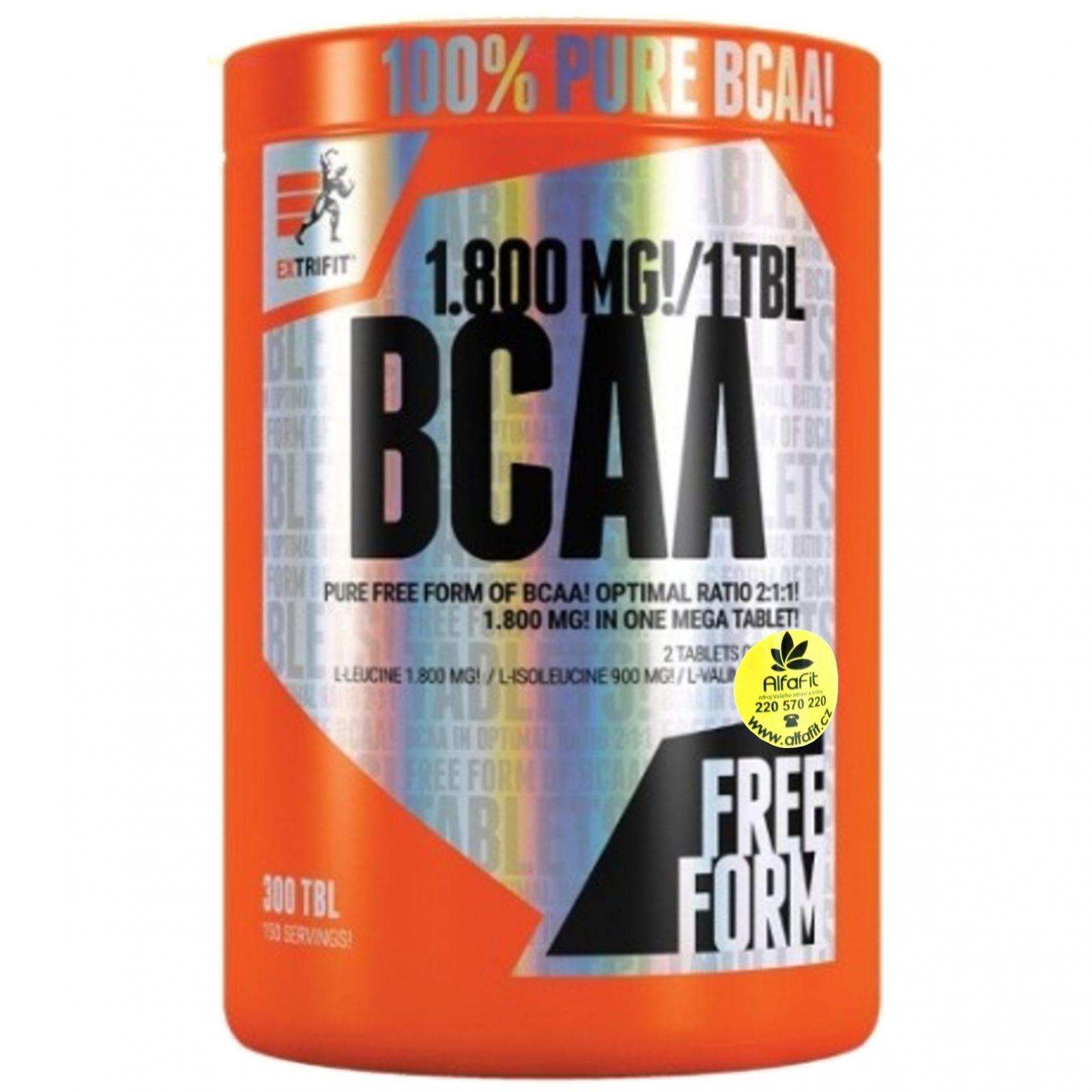 Extrifit BCAA 1800 mg Mega Tablets ─ 300 tablet