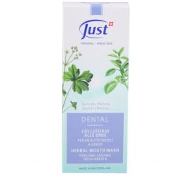 JUST Herbal Mouthwash 125 ml
