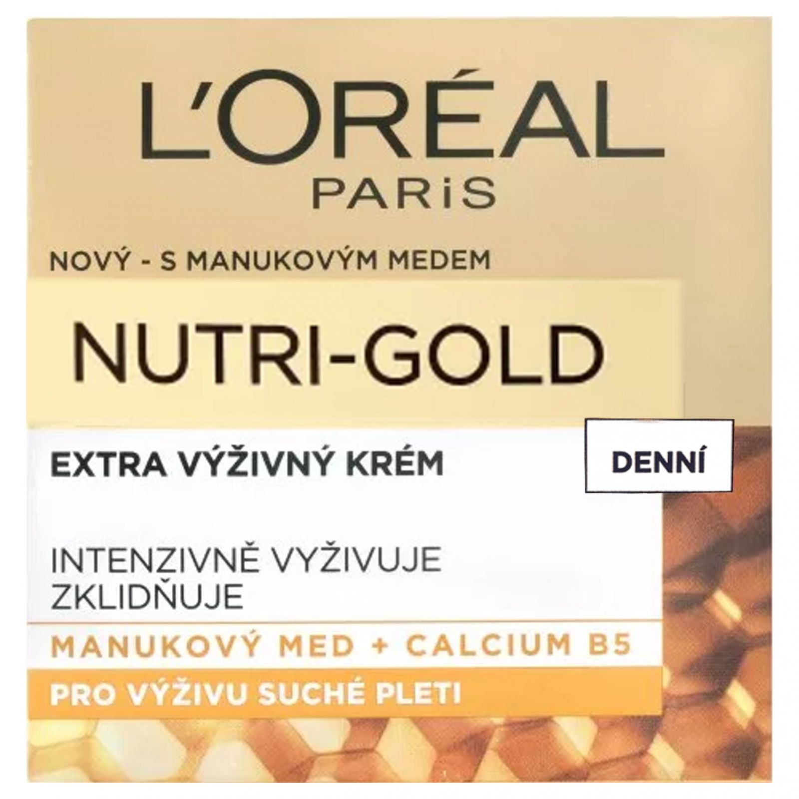 L'Oréal Paris Nutri─Gold Extra výživný denní krém 50 ml