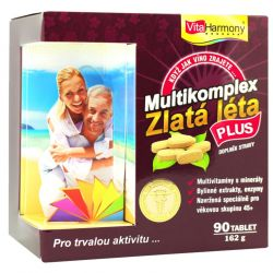 VitaHarmony multikomplex Golden Years Plus 90 tablets
