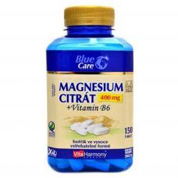 VitaHarmony Magnesium citrate 400 mg + vitamin B6 – 150 tablets