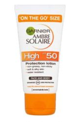 Ambre Solaire Opalovací mléko OF 50 ─ 50 ml