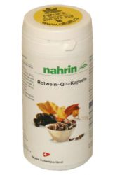 Nahrin Red Wine Capsules with Coenzyme Q10 ─ 100 capsules