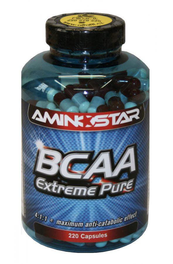 Aminostar BCAA Extreme Pure 220 kapslí