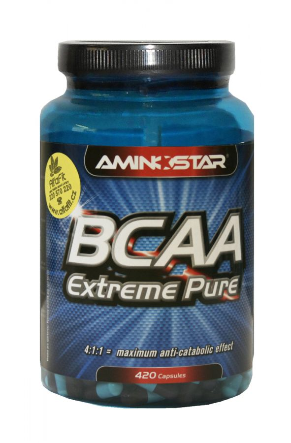 Aminostar BCAA 420 kapslí