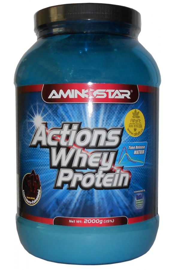 AMINOSTAR - Action Whey Gainer
