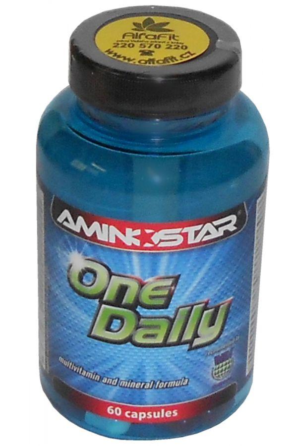 Aminostar One Daily - multivitamin a minerál 60 kapslí