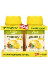 VitaHarmony Vitamin C with rose hips 500 mg 60 + 60 tablets