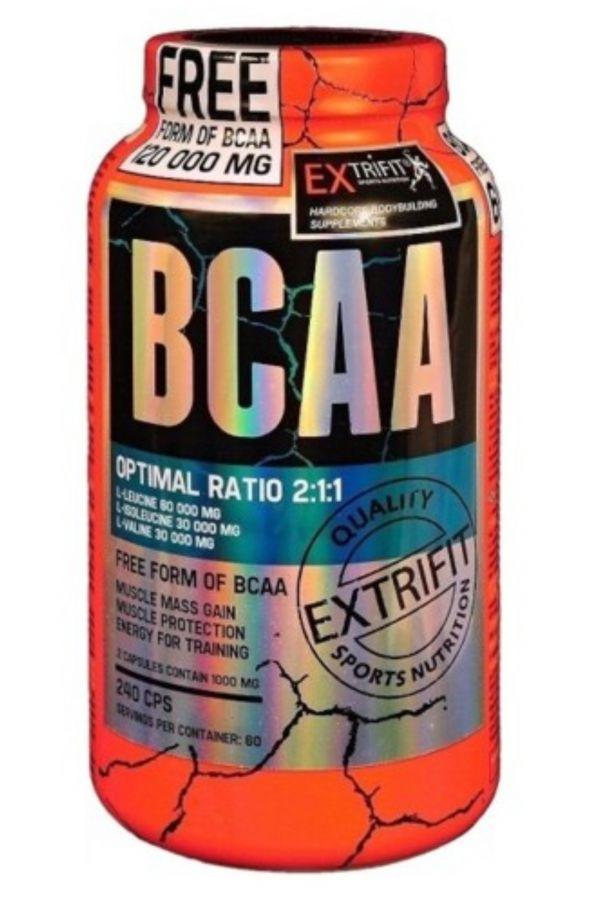 Extrifit BCAA Pure Free Form 240 kapslí