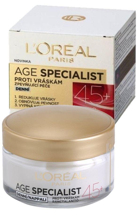 L'Oréal Paris Age Specialist denní krém 45+ proti vráskám 50 ml