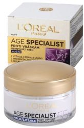 L'Oréal Paris Age Specialist 55+ Night Anti-Wrinkle Cream 50 ml
