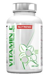Nutrend Vitamin C with rosehips 100 tablets