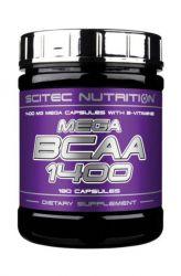 Scitec Mega BCAA 1400 ─ 180 capsules