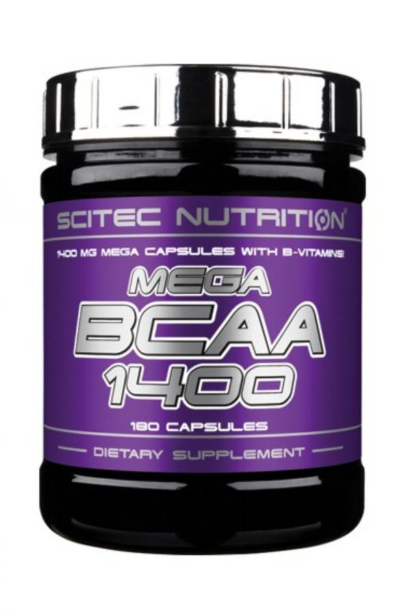 Scitec Mega BCAA 1400 - 180 kapslí