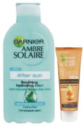 Ambre Solaire moisturizing after-sun lotion 400 ml + Toning Cream 50 ml FREE