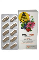 MycoMedica MULTIcell 60 capsules
