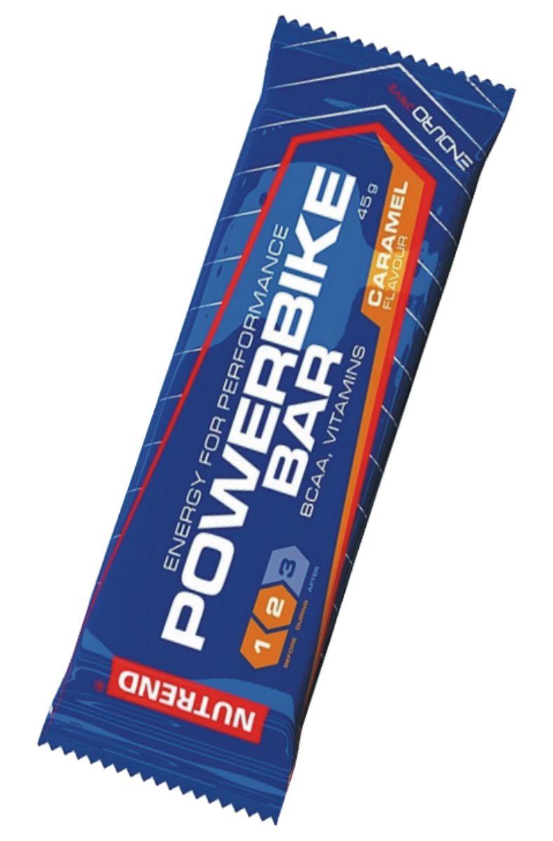 Nutrend POWER BIKE BAR 45 g - karamel